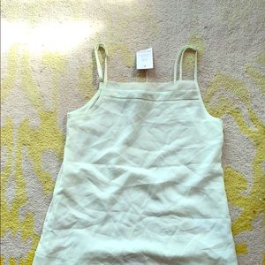 French Connection mint green tank top